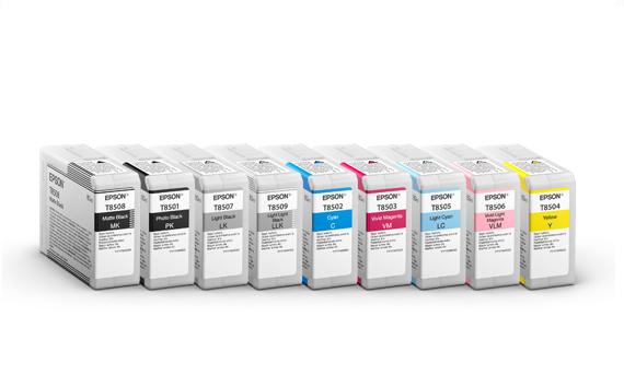 EPSON Cyan 80 ml til SC-P800 (T8502)